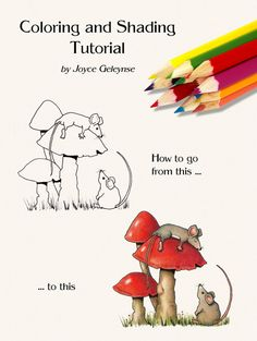 How to Color with Color Pencils Tips for by FreshAirPrintables