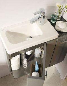 L'arredamento ideale per il bagno piccolo