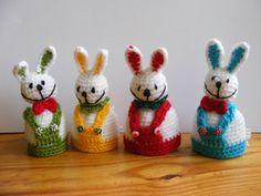 Easter bunny egg warmer easter decoration easter egg by AmayArt, $12.00