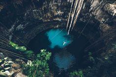 Cenote Oxman, Proche Valladolid, Yucatan