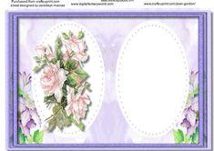 Incert Liac floral  on Craftsuprint - Add To Basket!