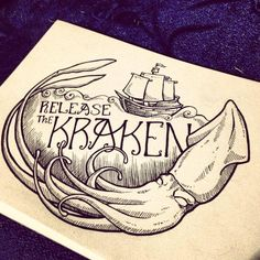 Enjoy your life and when you love do something and wanna do something RELEASE THE KRAKEN!!!