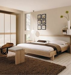 Bedroom Furry Dark Brown Rug Solid White Wood Timber Bedroom Flooring And Bedroom Design And Decoration Cream The Best Bedroom Wall Colors Astounding Bedroom Design Ideas That You Will Make You Fall In Love