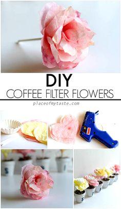 Paper Flower Pots - Place Of My Taste