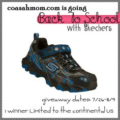 Go Back To School In Style With Skechers! Enter To Win!!