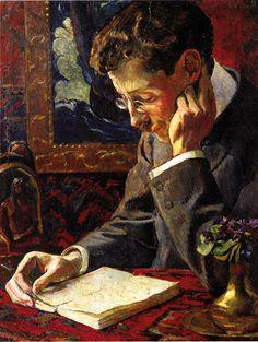 Portrait de Victor Segalen par George-Daniel de Monfreid, 1909.