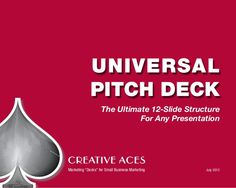 universal-pitch-deck by Creative Aces via Slideshare