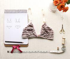 Soft bra sewing pattern by Ohhh Lulu