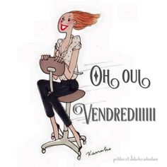 Discover recipes, home ideas, style inspiration and other ideas to try. Monday Humor Quotes, Its Friday Quotes, Friday Humor, Funny Quotes, Friday Gif, Bon Mardi Humour, Flower Girl Pictures, Image Club, Friday Images