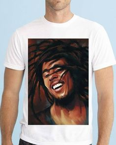 Bob Marley, Celebrities, Music, Instagram Posts, Clothing, Mens Tops, T Shirt, Art, Products