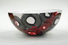 Ceramic bowls inspired by the Derbyshire landscape on Behance
