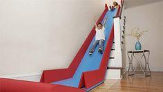 Come trasformare le scale di casa in uno scivolo sicuro