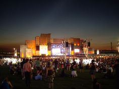 Rock in Rio stage, Portugal