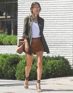 Alessandra Ambrosio Is Seen Out and About in LA