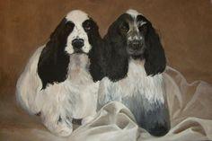 Rosie Holtby Original Artwork  www.rosieholtby.com Original Artwork, Fine Art, The Originals, Dogs, Painting, Animals, Animales, Animaux, Doggies