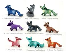 MADE TO ORDER Moon Fox Totem Figurine Sculpture, Animal magic spirit amulet by DemiurgusDreams on Etsy https://www.etsy.com/listing/482557320/made-to-order-moon-fox-totem-figurine