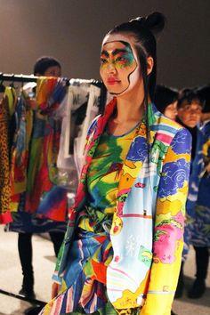 Kansai Yamamoto - style bubble