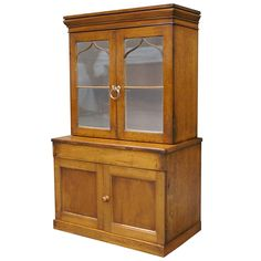 Rare and Unusual Miniature Bookcase | From a unique collection of antique and modern models and miniatures at https://www.1stdibs.com/furniture/more-furniture-collectibles/models-miniatures/