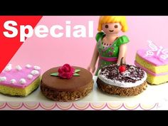 Playmobil deutsch - Pimp my PLAYMOBIL - Kuchen basteln - DIY für Kinder - Family Stories - YouTube