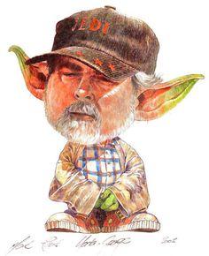 PLANET-PULP // CELEBRATING PULP CULTURE: Yoda George