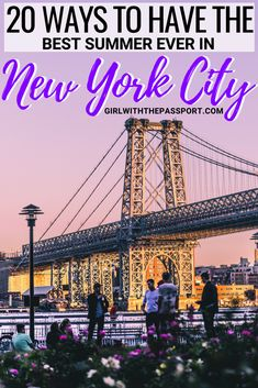 If you are planning some New York City travel this summer then this local's guide is for you. Check out all the amazing New York City things to do and as well as some amazing New York City food to eat. Between Governors Island, Coney Island, the beach, Ellis Island, the Bushwick Collective, Blacktap, and more, you won't have a dull moment while visiting New York City this summer. #NYC #USA #travel #wanderlust #NewYorkCity #UnitedStates