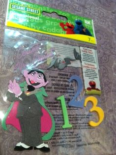 Sesame Street Count Von Count Dimensional by RoyalDescent10, $2.70