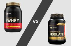 Optimum Nutrition Gold Standard vs Isolate: Which is right for you? | Muscle Plus UK Whey Protein Concentrate, Protein Blend, Optimum Nutrition Gold Standard, Gold Standard Whey, Build Muscle Fast, Whey Protein Isolate, Banana Cream