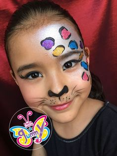 jaguar... click on the photo to see more information about that Face Painting Images, Animal Face Paintings, Adult Face Painting, Face Painting Tutorials, Belly Painting, Face Painting Designs, Animal Faces, Painting For Kids, Painting Tips