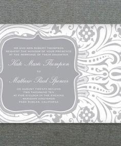 Invitation Template - Art Deco Star Burst Design