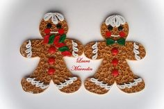 quilling my passion: Omuleti de turta dulce/Quilled gingerbread man