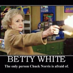 Betty White at her finest!