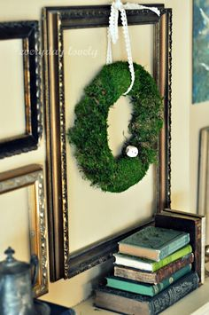 framed wreath