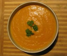 Curry Cream of Carrot Soup