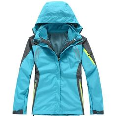 (paid link) Women Hiking Outfits action mens. >>>Be sure to check out this helpful article. Raincoat Outfit, Types Of Jackets, Women's Jackets, Raincoats For Women, Winter Jackets Women, Outdoor Woman, Outdoor Outfit, Mantel, Winter Outfits