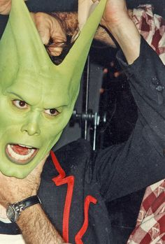Jim Carrey in the Mask.