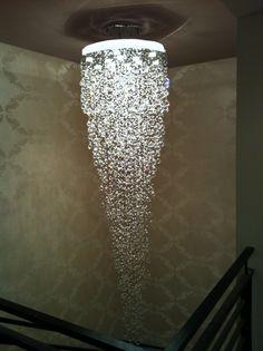 chandelier installed in Beverly Hills, CA