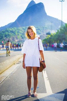 RIOetc | Camiseta+branca+e+só