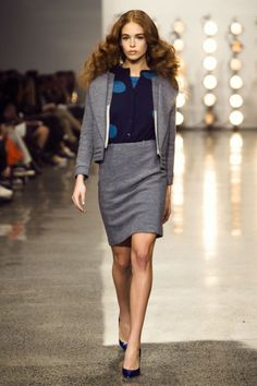 Adrian Hailwood's Winter 2014 collection at New Zealand Fashion Week.
