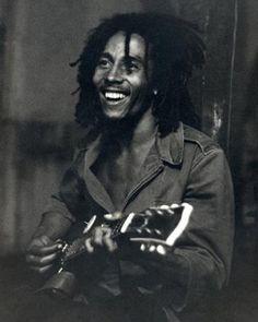 Bob Marley, Rehearsal, Hope Road, Jamaica, Silver Gelatin Photo Print, Neville Garrick ($200)