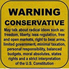 Conservative political ideology of a NON-Reupublican REAL Constitution loving, born and raised American of first generation IMMIGRANT parents! Political Quotes, Political Views, Political Ideology, Political Cartoons, Conservative Values, Conservative Republican, Conservative Quotes, Republican Values, Republican Girl