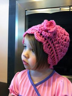Raspberry cloche cap  size 1218 months by littleshopofliv on Etsy, $20.00
