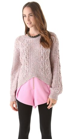 Brix Chunky Knit Sweater by ShopBop