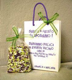 #Partecipazione originale con #wedding bag!