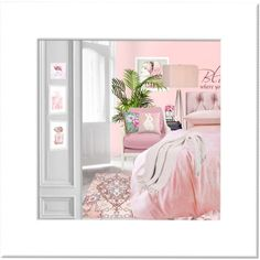 Pink, pink, pink by kateadams-2501 on Polyvore featuring art