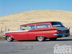 1959 Ford Ranch Wagon Side