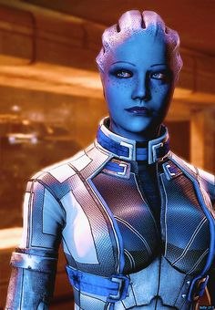 Liara T'Soni from the Mass Effect franchise. Despite only being 109 years old, Liara still manages to kick Reaper butt.