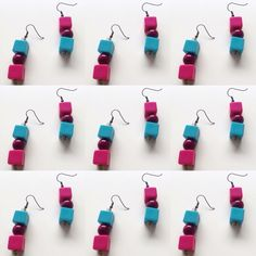 Spring earrings #earrings#pendientes#handmade#artesanal#color#colour #accesorio#accessory#spring#primavera#tiendaonline#onlineshop #abasappa#diseñadoramoda#fashiondesigner #patriciachavarri#artist#artista#fashionblogger#blogger#art#arte #diy#fashion#moda#bisuteria#jewelry#fashiondesign#diseñomoda #cool-hunter