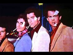 SNF starring John Travolta as Tony Manero, Barry Miller as Bobby C, Joseph Cali as Joey and Paul Pape as Double J. Bee Gees - How Deep Is Your Love and Stayi. 90s Movies, I Movie, Saturday Night Fever Movie, Real Love, My Love, Grease Movie, John Travolta, Retro Aesthetic, Staying Alive