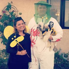 Halloween Costumes : 57 Cheap and Original DIY Couples Halloween Costumes Cheap Halloween Costumes, Halloween 2015, Halloween Makeup, Happy Halloween, Halloween Party, Halloween Couples, Halloween Ideas, Duo Costumes, Best Couples Costumes