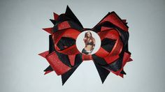 Wwe Diva Hair bow Sasha Banks Check out this item in my Etsy shop https://www.etsy.com/listing/270540678/wwe-diva-wrestling-sasha-banks-hair-bow